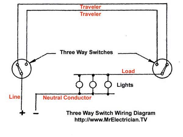 3 Way Switch Wiring Diagram  U2013 Mr  Electrician